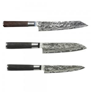 Kiritsuke 23cm, Santoku 18cm & Universalkniv 15cm