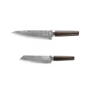 Kockkniv 20cm & Santoku 17cm