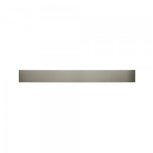 Magnetlist i rostfritt stål, 75cm