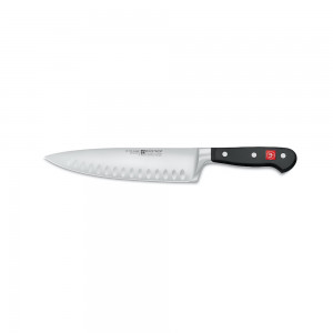 Kockkniv 20cm, olivslipad m. halvt bolster